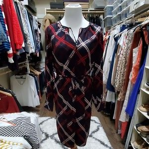 Ann Taylor Long Sleeve Dress